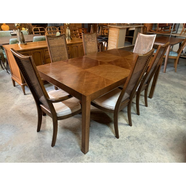 Baughman Style Mid-Century Modern American of Martinsville Dining Table and Chairs -- Set of 7 For Sale - Image 13 of 13