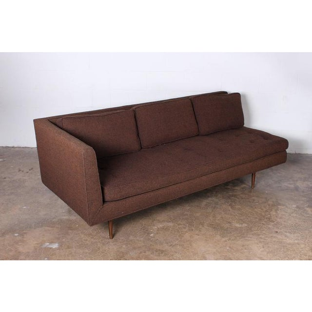 1950s Sofa/Chaise by Edward Wormley for Dunbar For Sale - Image 5 of 7