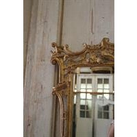 19th Century Carved Chippendale Style Gilt Mirror - Image 3 of 6