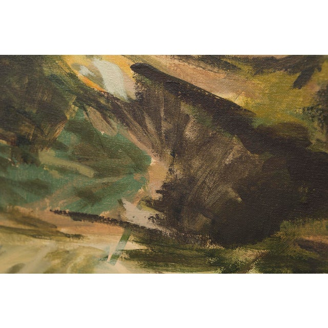 """Abstract Slater Sousley, """"The Overgrowth on the Bank"""" For Sale - Image 3 of 8"""
