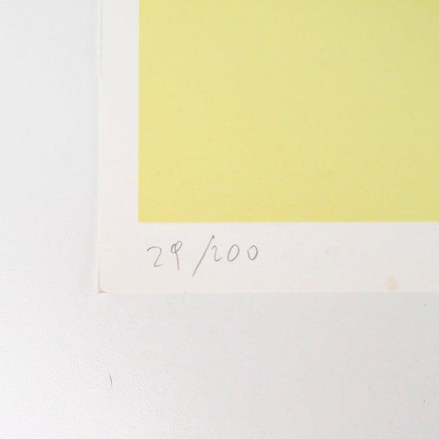 "1980s ""War Baby"" Signed Numbered Serigraph Silkscreen Print by Kiki Kogelnik For Sale - Image 4 of 9"