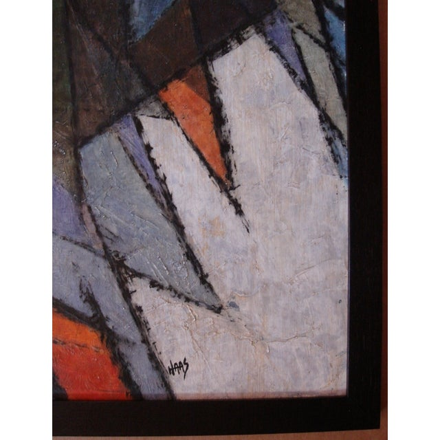 1960s Hildegarde Haas Abstract Painting - Image 3 of 4