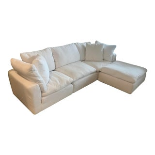 Resteration Hardware Cloud Sectional For Sale