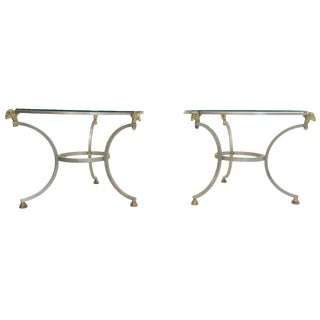 Gueridon Tables in the Style of Maison Jansen - a Pair