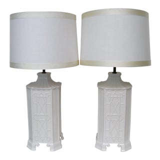 Chapman Chinoiserie Lamps, a Pair For Sale