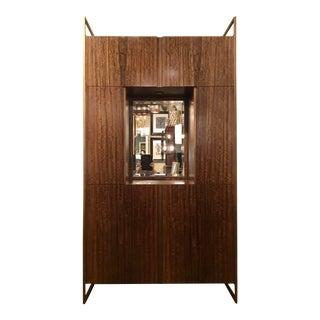 John Richard Modern Floating Light Display Cabinet For Sale