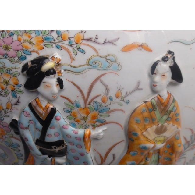 Japanese Imari Fish Bowl For Sale - Image 12 of 13