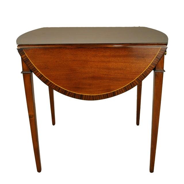 George III Drop-Leaf Pembroke Side Table - Image 4 of 4