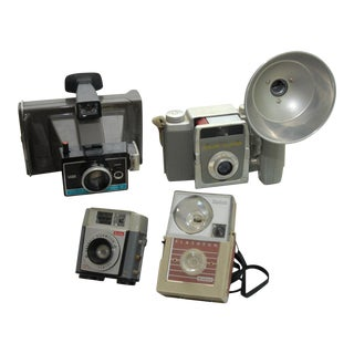 Decorative Vintage Camera Collection