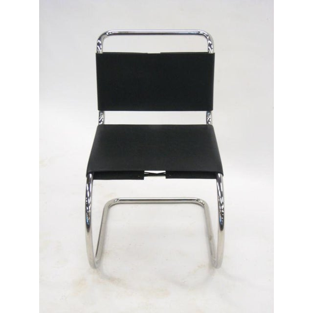 Ludwig Mies van der Rohe MR chairs by Knoll For Sale In Chicago - Image 6 of 8