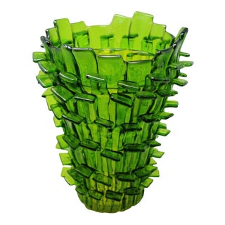 Fulvio Bianconi - Ritagli Vase by Fulvio Bianconi of Venini For Sale