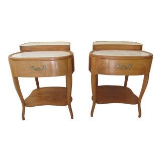 Grosfeld House Style End Tables - A Pair