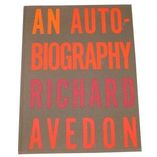 1st Edition: An Autobiography Richard Avedon