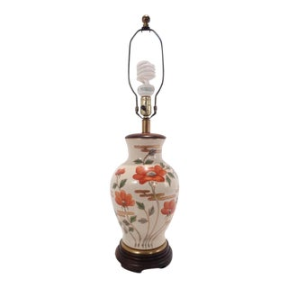 Frederick Cooper Chinoiserie Ginger Jar Lamp For Sale