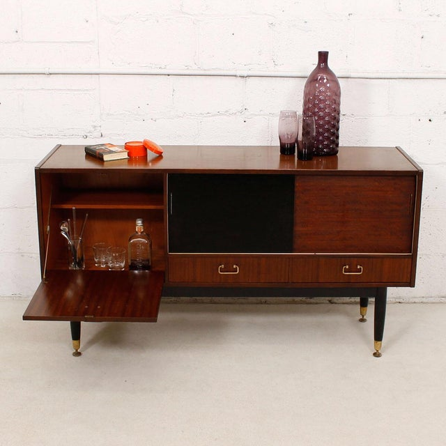 G-Plan E Gomme Ltd. English Modern Sideboard Bar Cabinet - Image 8 of 9