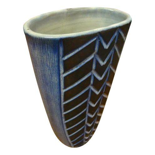 Norwegian Studio Ceramic Vase - Image 1 of 6