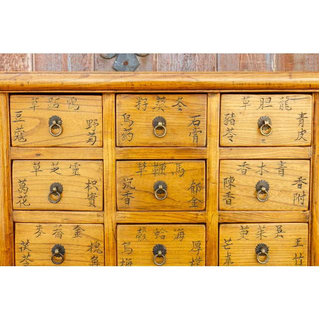 Chinese Elm Apothecary Dresser For Sale - Image 4 of 9