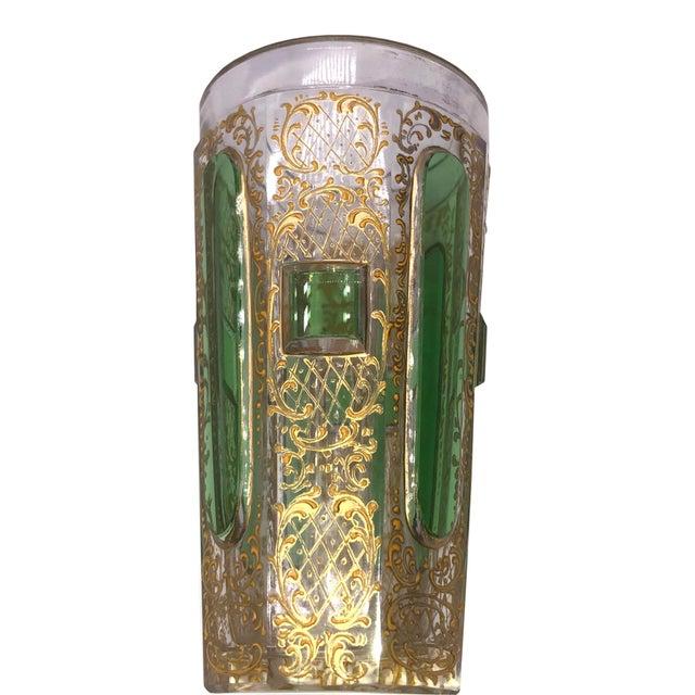 Art Nouveau Small Moser Beaker For Sale - Image 3 of 7