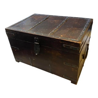 1920s Chinese Money Chest For Sale