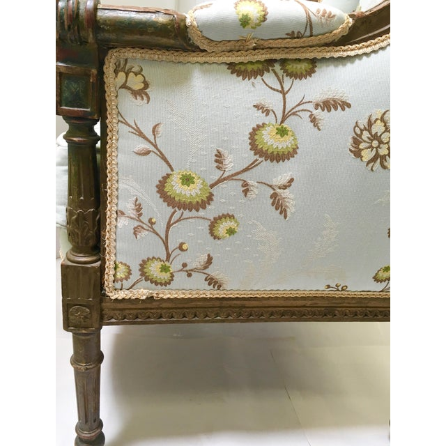 Antique French Wingback Chair - Image 9 of 9