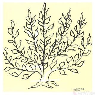 Henri Matisse 'Le Buisson' Lithograph For Sale