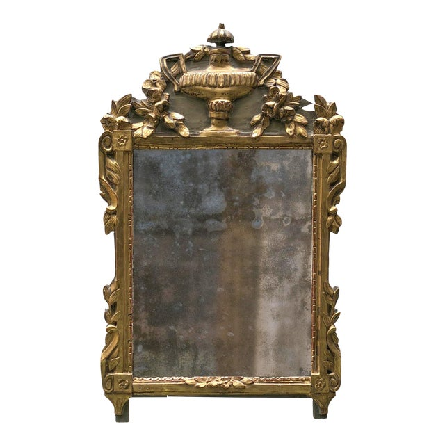 18th Century Provincial Louis XVI Mirror For Sale