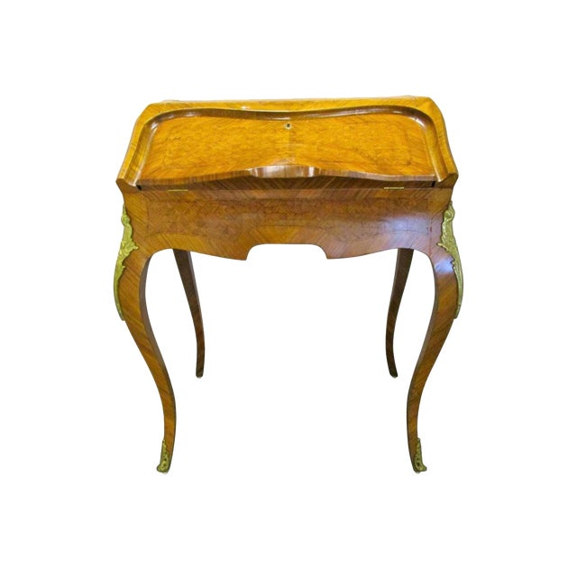 Ladies Antique French Writing Desk Bureau De Dame For Sale - Superb Ladies Antique French Writing Desk Bureau De Dame DECASO