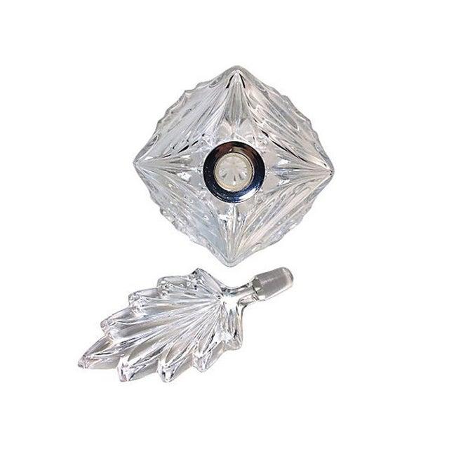 Press-Cut Glass Perfume Bottle - Image 5 of 6