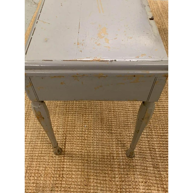Antique Art Deco Desk, Vanity, Mirror and Chair, Signed Luce Furniture For Sale - Image 10 of 13