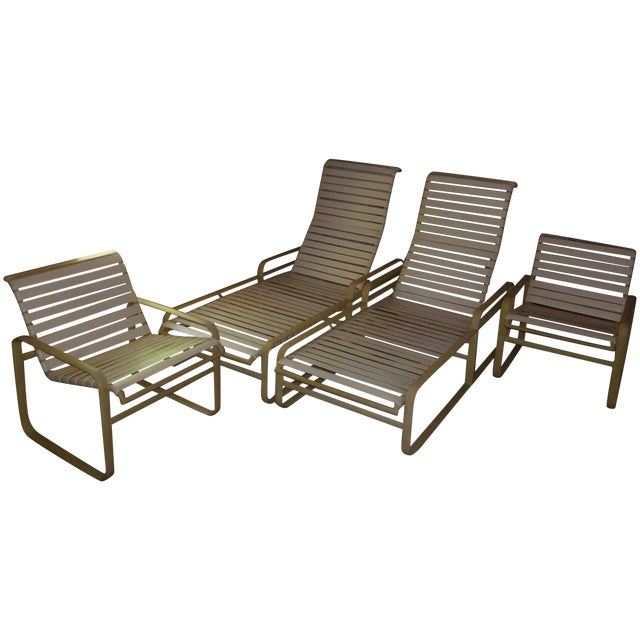 Mid century modern tropitone chaise lounges pair chairish for Chaise longue northern ireland