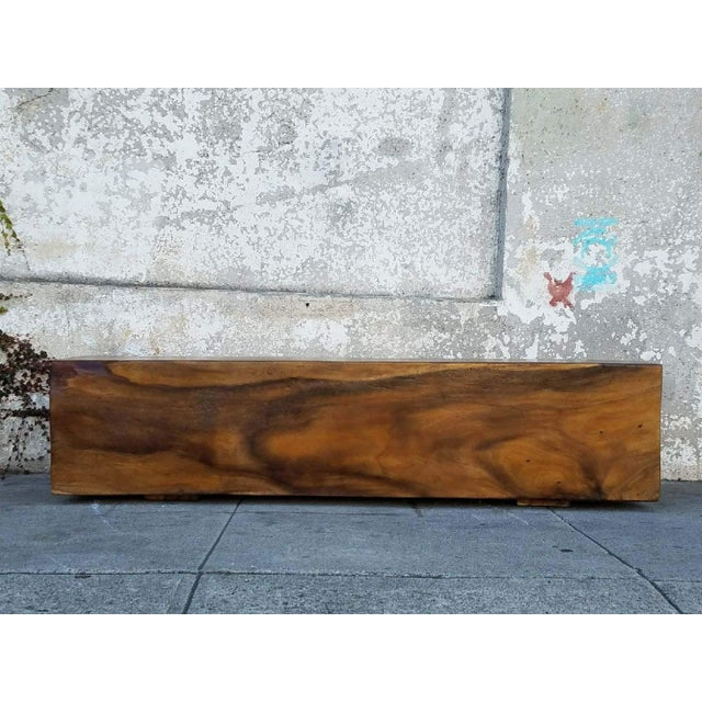 This vintage solid rosewood bench isn't going anywhere anytime soon. Solid rosewood is hard to come by and worth every...