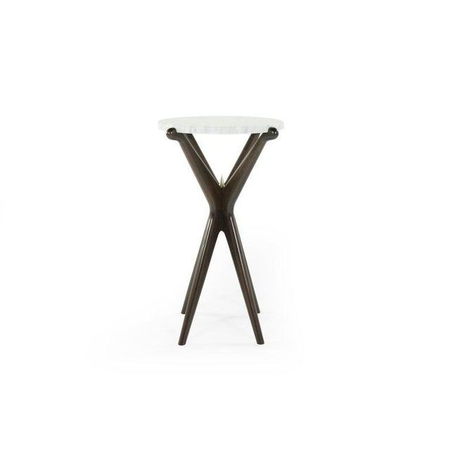 Mid-Century Modern Gazelle Collection Cigar Table For Sale - Image 3 of 12