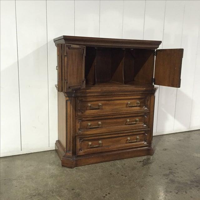 Vintage Walnut Highboy Dresser - Image 5 of 7
