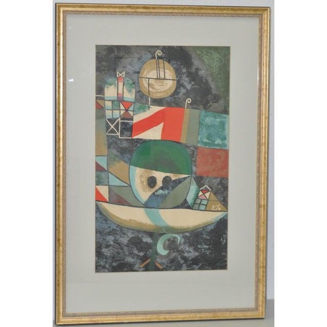 Paul Klee Vintage 1950s Silkscreen - Image 2 of 9