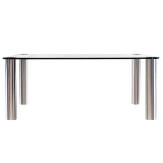 "1970s Mid-Century Modern Irving and Leon Rosen Nickel Plated ""Pace"" Table For Sale"