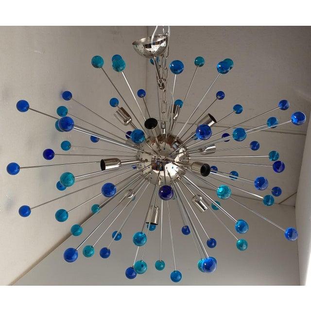 Contemporary Murano Glass Triedo Sputnik Chandelier For Sale - Image 11 of 11