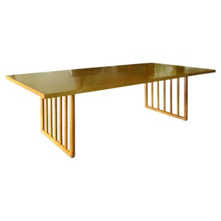 Mid-Century Modern Wood Dining Table by t.h. Robsjohn Gibbings for Widdicomb For Sale