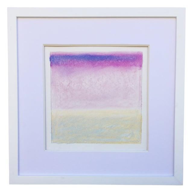 """Santa Monica Bay, Soft Calm Yellow"" Pastel - Image 1 of 3"