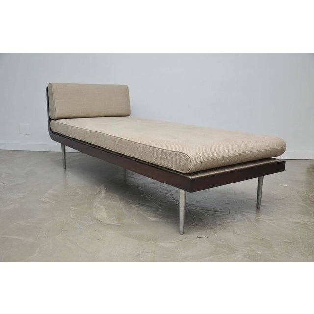 Rare Chaise Longue by Edward Wormley for Dunbar For Sale - Image 9 of 10