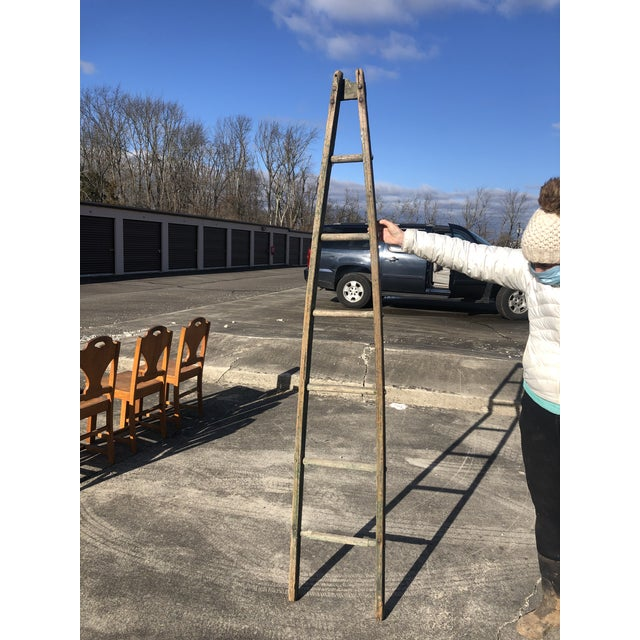 Authentic American Country Apple Ladder For Sale In Philadelphia - Image 6 of 8