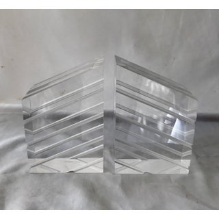 Astrolite Lucite Bookends - A Pair Preview