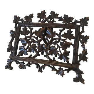 19th Century Antique Black Forest Easel For Sale