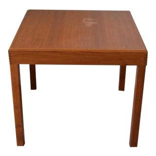 20th Century Danish Modern Kovby Game Table For Sale