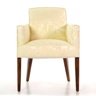Circa 1935 French Art Deco Period Rosewood Arm Chair Preview