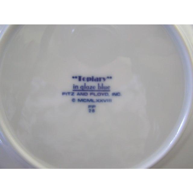 Fitz & Floyd Topiary Dessert Plates - Set of 4 - Image 5 of 5