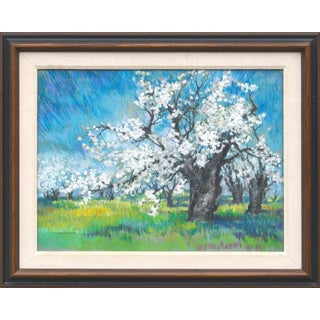 Therese Nolan Krassowski Cherry Blossoms Landscape For Sale
