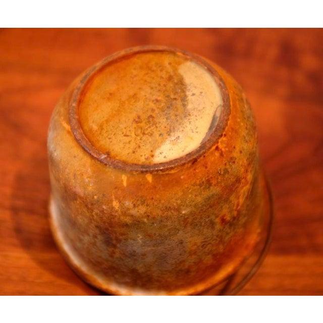 Orange Foundry Smelting Crucible For Sale - Image 8 of 9
