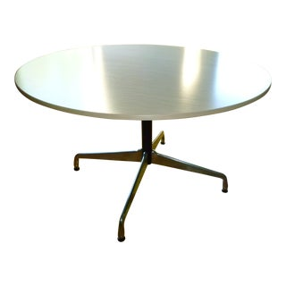Design Within Reach Round Ash Table For Sale