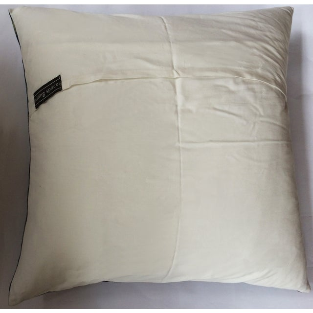 Indigo Ikat Pillow Cover - Image 3 of 3