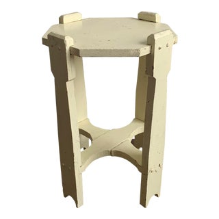 1940's Arts and Crafts Side Table or Plant Stand For Sale